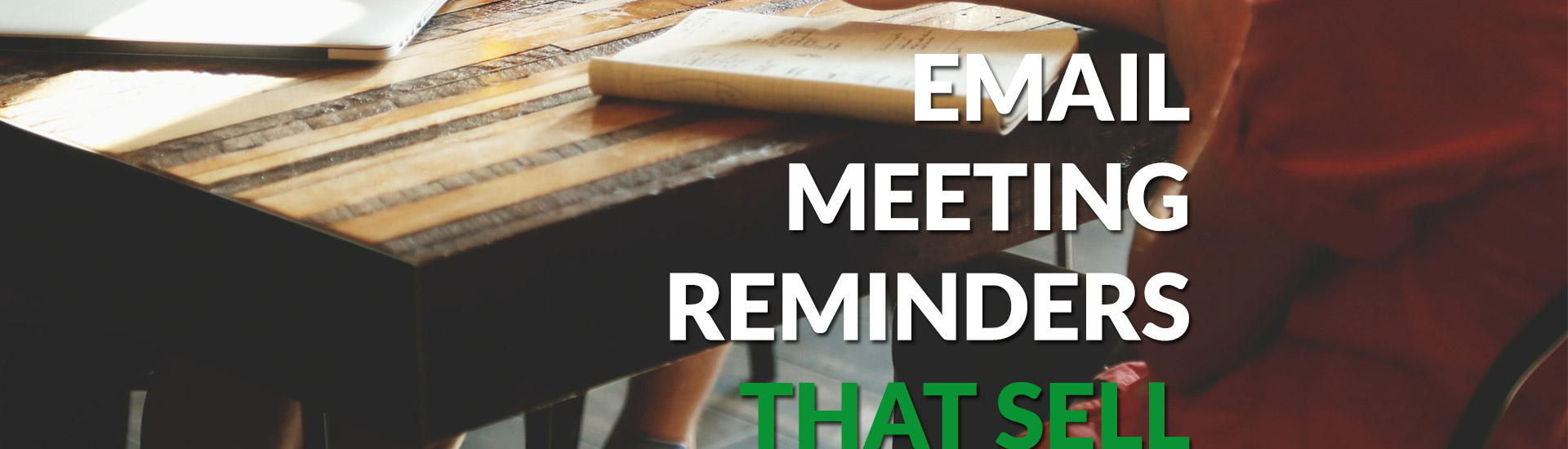 how to send a meeting reminder email