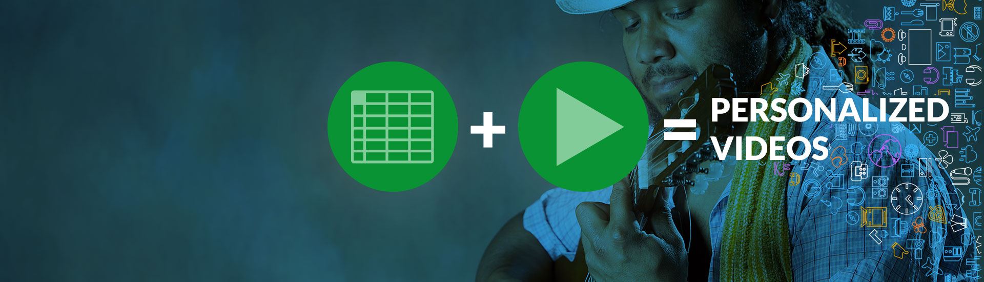 Make personalized videos from a spreadsheet with Zapier + Sezion