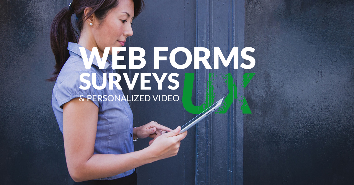 Typeform: beautifful web forms and surveys. Sezion: personalized video.